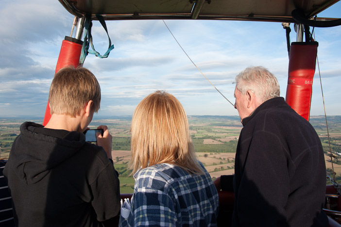 Travelling at heights of up to 2,000 feet above the ground you will be able to see for miles on a clear day over the Yorkshire countryside when you fly in a hot air balloon.